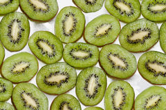 Background  made of kiwi slices  Royalty Free Stock Photography