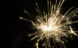 Background made from light of sparkler Royalty Free Stock Photos