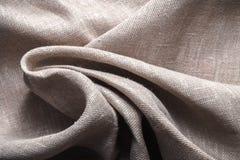 Background made of linen folded napkins Stock Image