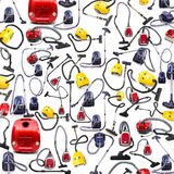 Background made of many vacuum cleaners Royalty Free Stock Image