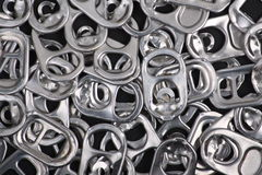Metal Ring Pull Background Stock Photography
