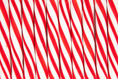 Free Background Made Of Red And White Candy Canes Royalty Free Stock Photos - 12052178