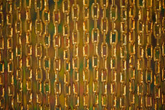 Background made of old rusty chains Royalty Free Stock Photography