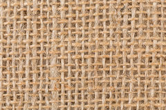 Background made of old sackcloth Stock Photography