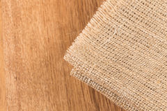 Background made of old sackcloth Stock Images