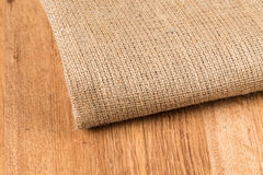 Background made of old sackcloth Royalty Free Stock Image