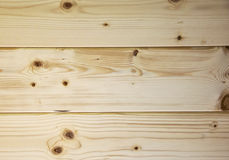 Background made with pine wood planks Royalty Free Stock Photo