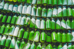 Background made from recycled cans medical Stock Image