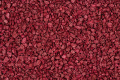 Background made of red brown decorative stones. Stock Images