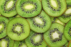 Background made from ripe kiwi slices Royalty Free Stock Photo
