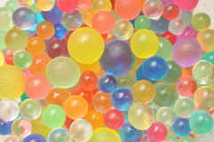 Background made with scattered color balls Royalty Free Stock Photo