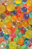 Background made with scattered color balls Royalty Free Stock Images