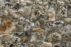 Background made of  stone wall Royalty Free Stock Image