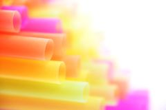Background made of straws Royalty Free Stock Image