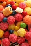 Background made of sweets Royalty Free Stock Images