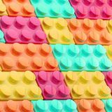 Background made of toy blocks. Background made of toy construction brick blocks Royalty Free Illustration