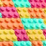 Background made of toy blocks. Background made of toy construction brick blocks royalty free illustration