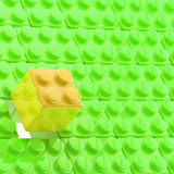 Background made of toy blocks. Background made of toy construction brick blocks Stock Illustration