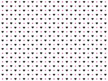 Background made up of hearts.  royalty free illustration