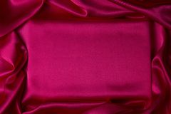 Background of magenta silk Stock Photo