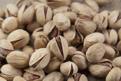 Background make from salt pistachios Royalty Free Stock Photography
