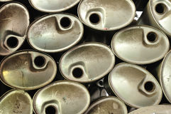 Background of many exhaust pipes Stock Images