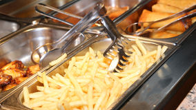 Background of many french fries Stock Photography
