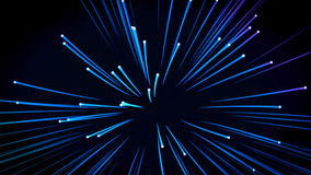 Background: many optical fibers Royalty Free Stock Image