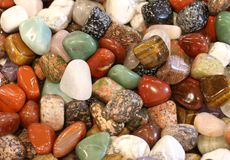 Background of precious stone for sale in the shop. Background of many precious stone for sale in the shop royalty free stock image