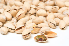 Background of many ripe pistachio Royalty Free Stock Image