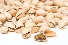 Background of many ripe pistachio Royalty Free Stock Image