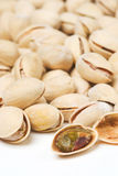 Background of many ripe pistachios Royalty Free Stock Image