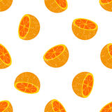 Background of many wealthy orange slices on each other Royalty Free Stock Photo