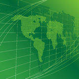 Background with a map Royalty Free Stock Photo