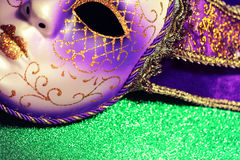 Background for Mardi gras or Fat tuesday Royalty Free Stock Photography