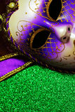 Background for Mardi gras or Fat tuesday Stock Image