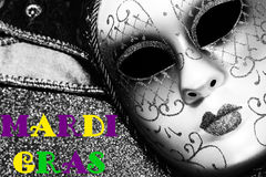 Background for Mardi gras or Fat tuesday Stock Images