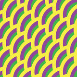 Background for Mardi gras. Yellow, green, purple abstract pattern. Stock Photo
