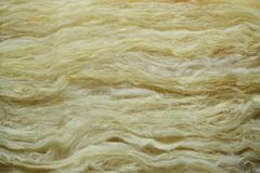 Background material of glasswool insulation. Close-up of specific material Royalty Free Stock Image