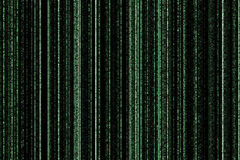 Background in matrix style Stock Photos