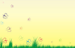 Background for May stock illustration