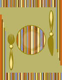 Background of menu stock illustration