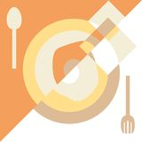 Background for menu. Royalty Free Stock Image