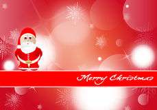 Background of Merry Christmas Stock Photography