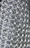 Background metal chain mail Royalty Free Stock Photography