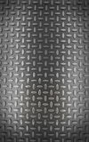Background of metal diamond plate (3d render) Royalty Free Stock Images
