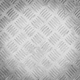 Background of metal diamond plate pattern Stock Images
