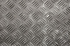 Diamond plate texture Stock Image