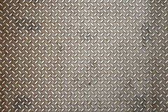 Diamond plate texture Stock Images