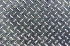 Metal diamond plate Stock Image